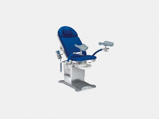 Examination chair for gynecology, urology and proctology