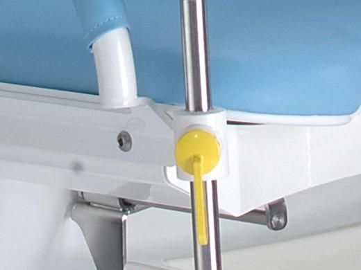 Leg holder clamps